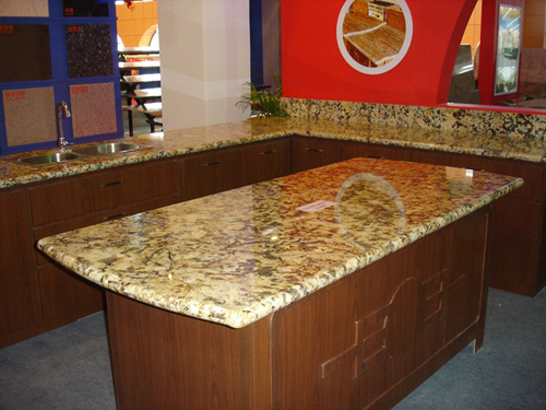Kitchen Island Countertop Stone Photo Gallery