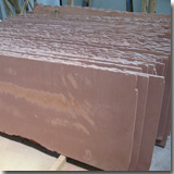 Red Sandstone Half Slab