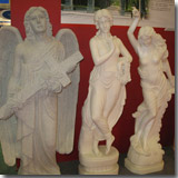 Marble Human Sculptures