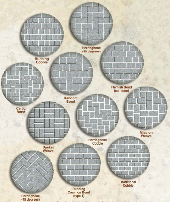 Granite Pavers   Granite Paving Stone Pattern And Sizes