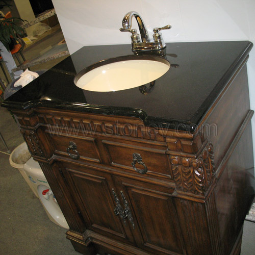Vanity Top Granite Shanxi Black Vanity Tops For Bathroom