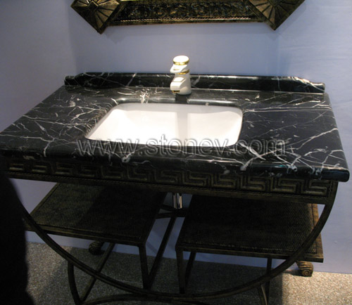 marble vanity top marble m080 black white vanity tops