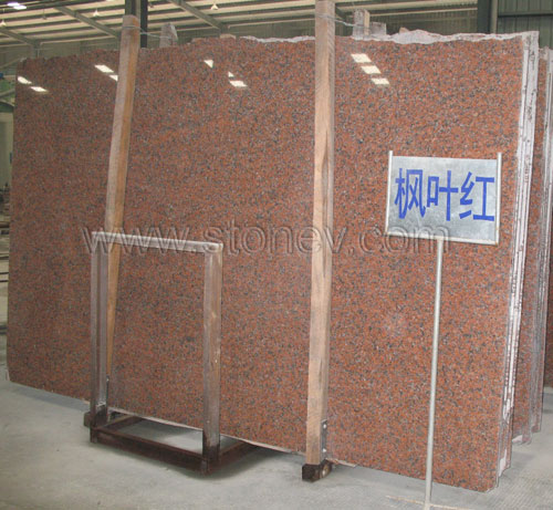 G562 Maple Red Slabs