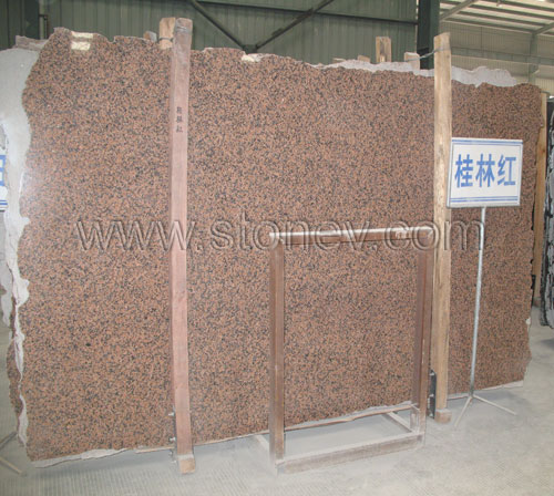G572 Guilin Red Slabs