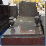 European Granite Tombstone