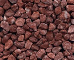 Deep Red Pebblestone