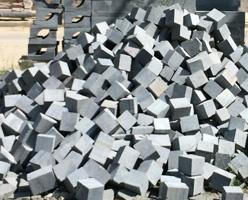 G654 Sawn Cube Stone