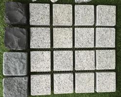 Grey Granite Cobble Stones