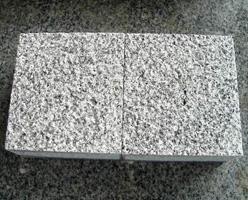 Bushhammered G603 Granite Cobbles