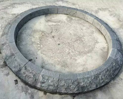 G684 Curved Kerbstone