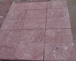 Red Porphyry Pavers