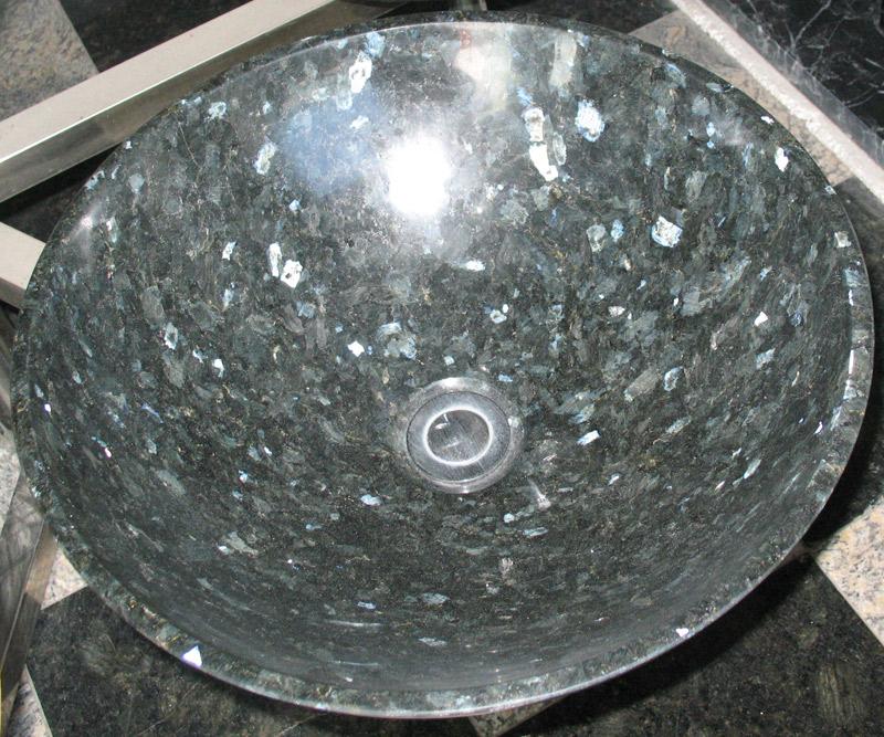 Blue Pearl Granite Sink