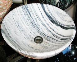 White Marble Sinks