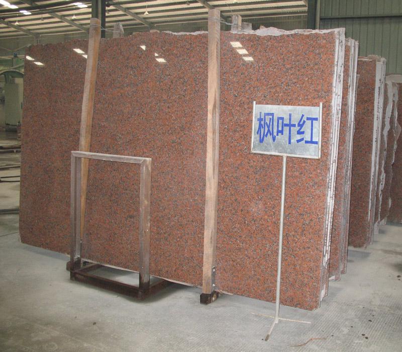 Maple Red Granite Slabs