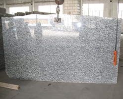 Surf White Granite Slab