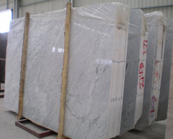 Carrara White Slabs