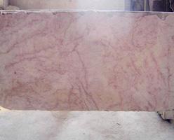 Red Cream Marble Slab