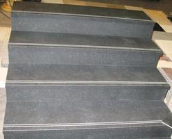 Black Granite Stairs
