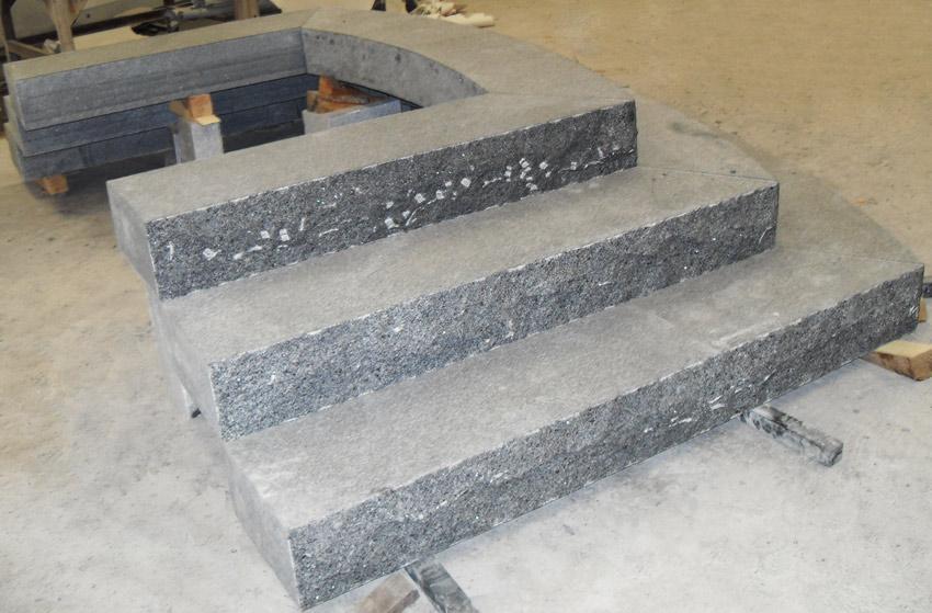 G654 Granite Stepping Stones