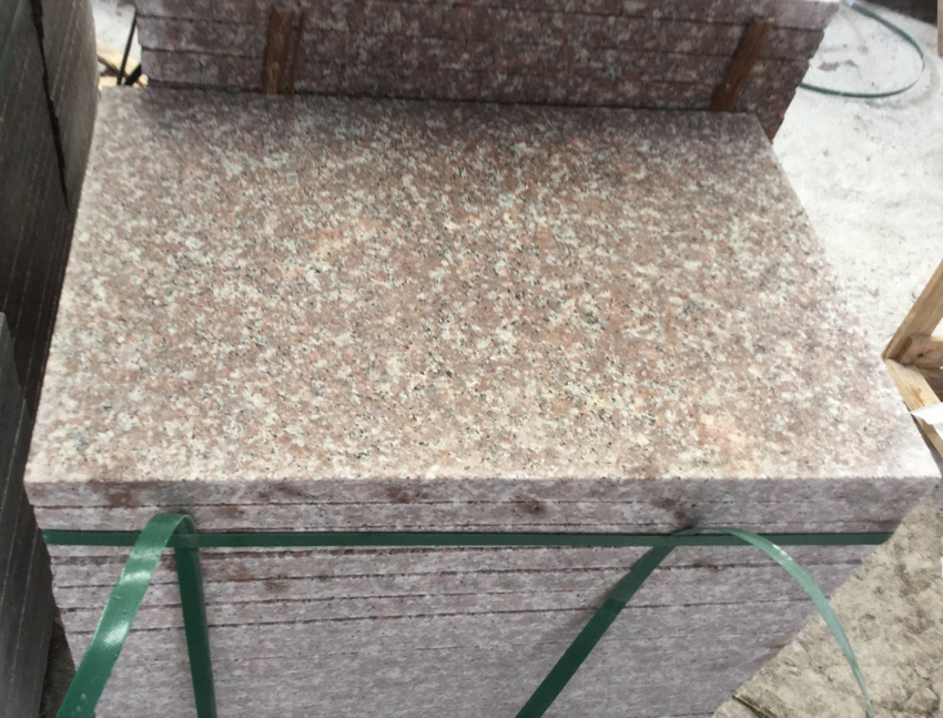 Granite G687 Flamed Tiles