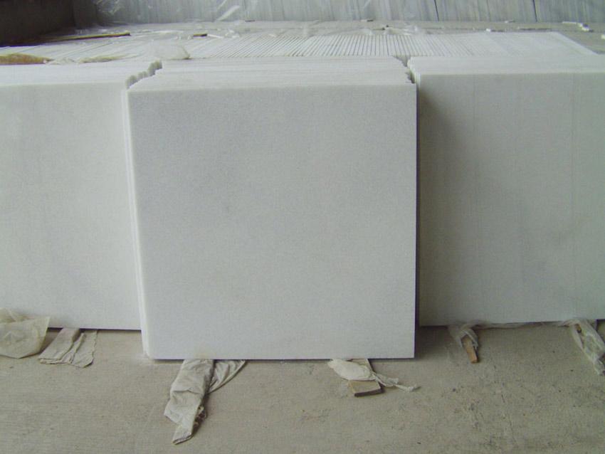 Crystal White Marble Tiles