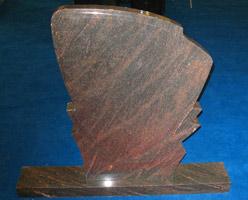 Indian Granite Tombstones