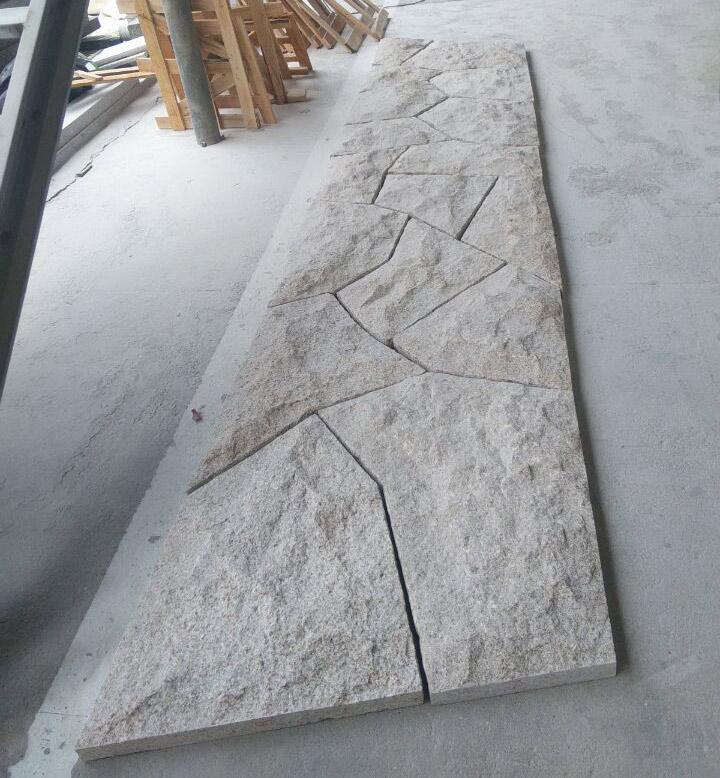 Yellow Granite Wall Stone