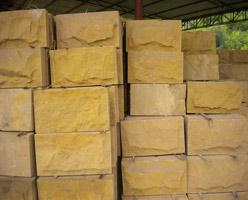 Yellow Sandstone Wall Stone