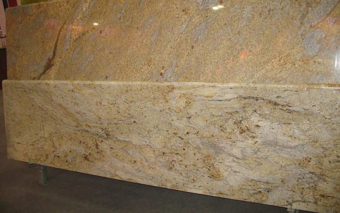 River Yellow Granite Countertops