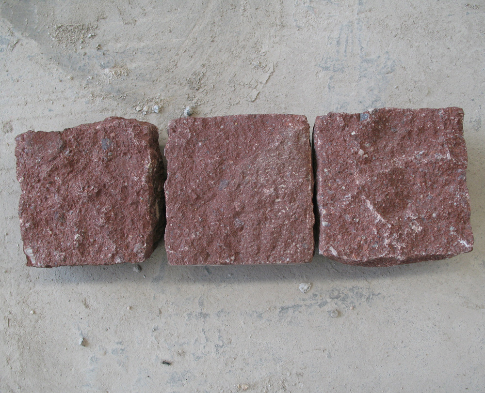 Dayang Red Porphyry Cobbles