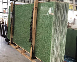 Marble Looking Nano Glass Slabs
