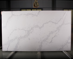 Calacatta Gorgeous Quartz Slab