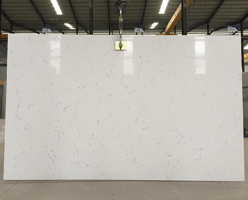 Super White Quartz Slabs