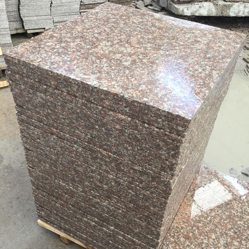 G687 Peach Flower Granite Tiles
