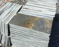 Slate Tiles - Rusty Slate Flooring Tiles