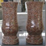 Granite G562 Maple Red Vase