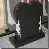 Granite Shanxi Black Tombstone