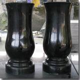 Granite Shanxi Black Vase