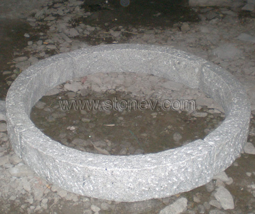 Granite G603 Radius Kerbstone