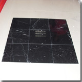 Marble Black and White Tiles