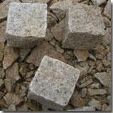 Granite G682 Cube Stone