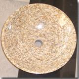 Granite Tiger Skin Yellow Sink