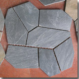 Iregular Black Slate Tiles