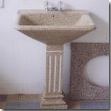 Granite G682 Pedestal Vanity