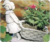 Stone Flowerpots