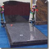 European Granite Tombstone